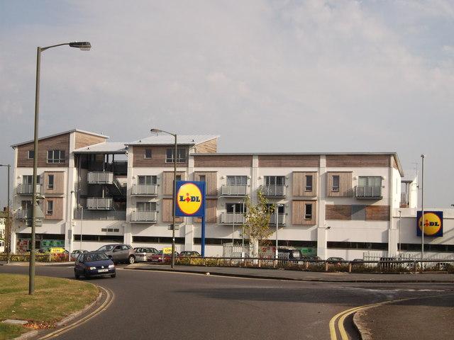 Lidl Supermarket, New Addington
