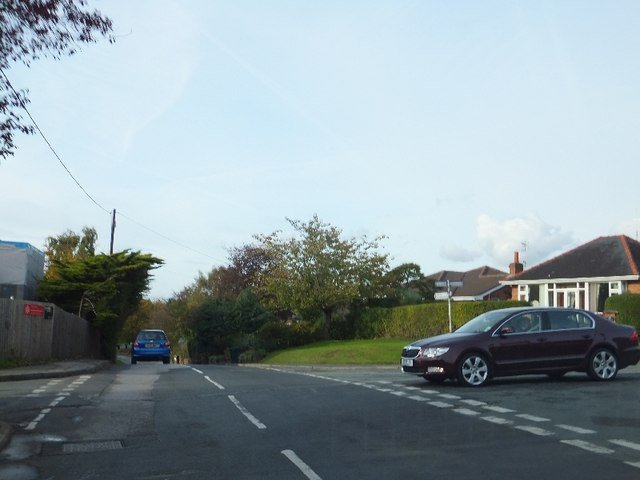 Willington Lane junction with Quarry Lane