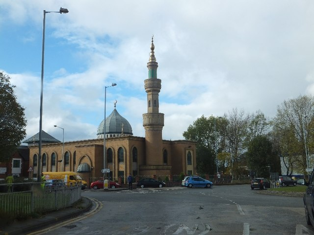 Wolverhampton Mosque (on the A449 roundabout)