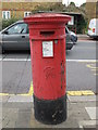 TQ2282 : Victorian postbox, Harrow Road / Letchford Gardens, NW10 by Mike Quinn