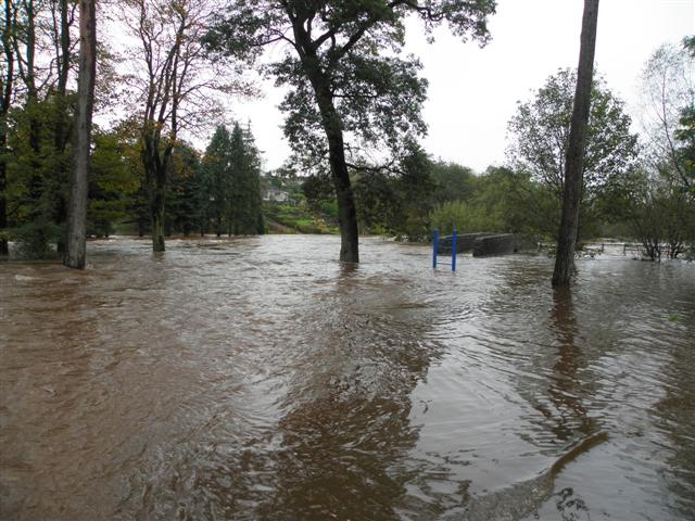 Cranny picnic area flooded