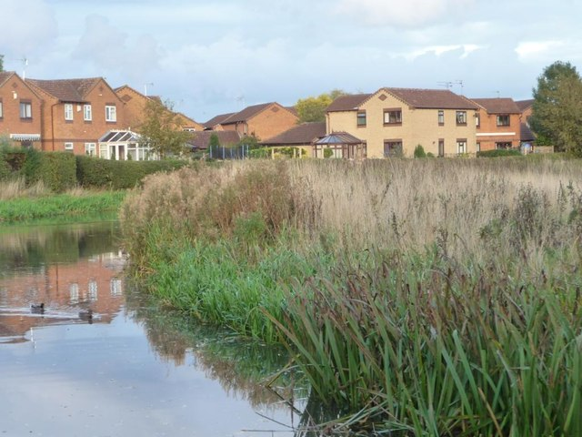New houses on Brixworth Way