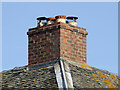 SK2018 : Chimney stack at Barton Turn, Staffordshire by Roger  Kidd