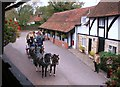 SU5794 : Coach & Horses at The George by Des Blenkinsopp