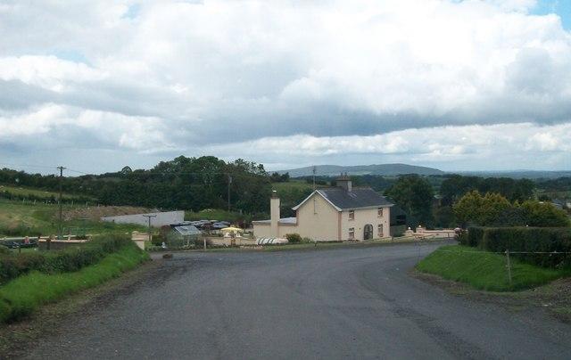 Farmhouse below Sliabh na Caillí