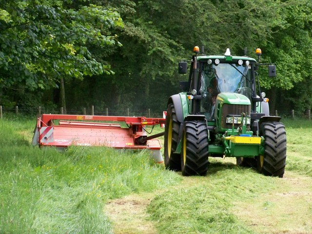 Cutting Grass For Silage - Image #2