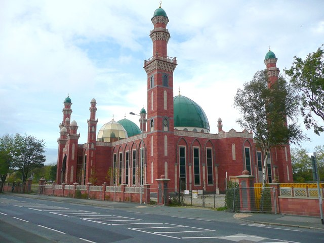 The new Central Mosque, Horton Park Avenue, Bradford