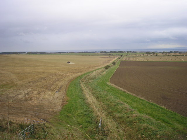View from the railway embankment