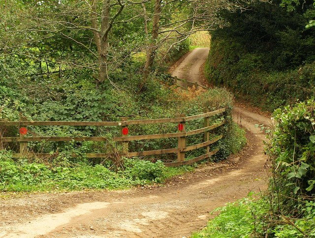 East Devon Way below Goosemoor Farm