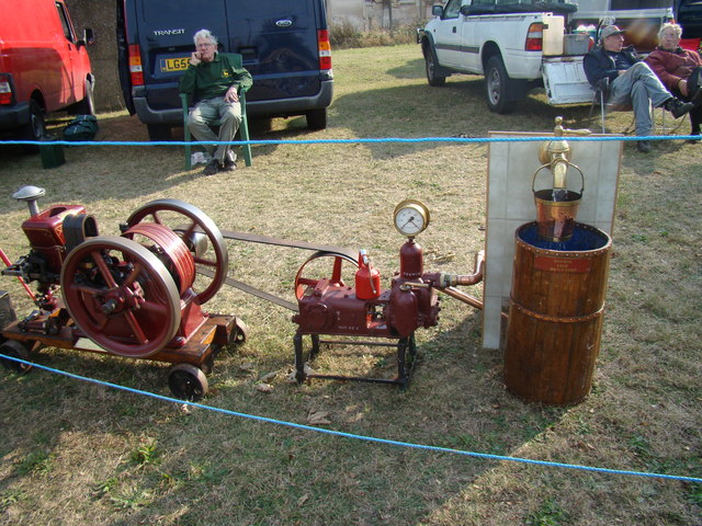 Unknown engine with Godwin Chop water pump