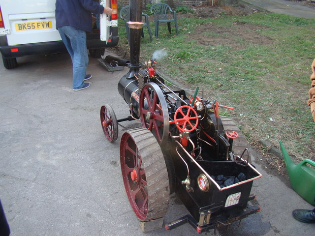 Man of Kent traction engine