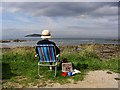 NT5685 : Looking out to Milsey Bay, North Berwick by Walter Baxter