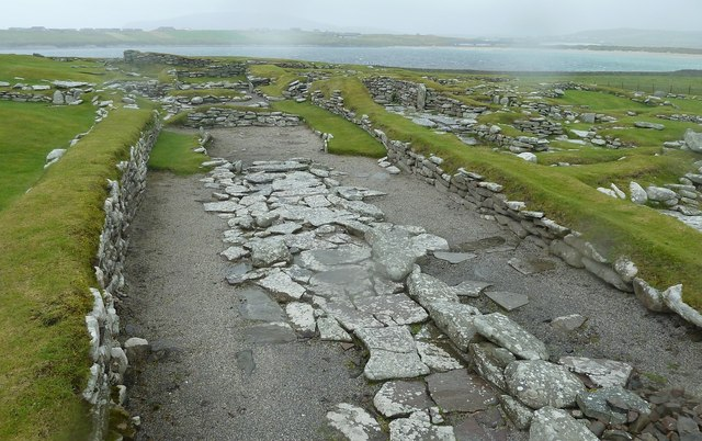 Hu3909 jarlshof the norse settlement viking