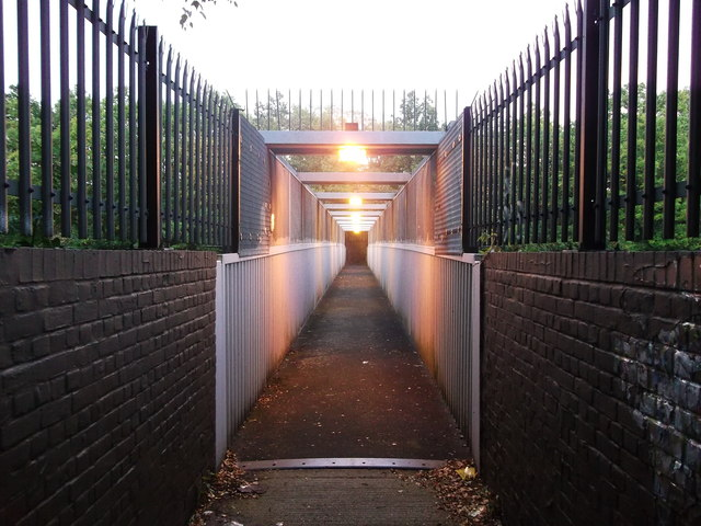 Footbridge over the railway, Orpington