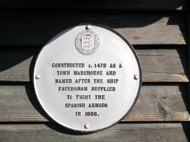 Plaque on The Training Ship Hasarde, Faversham