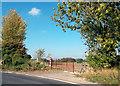 SU4689 : Red Gate on the Corner by Des Blenkinsopp