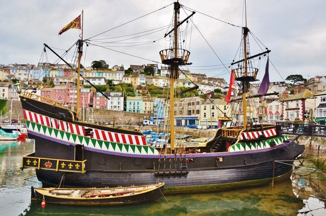 Brixham The Golden Hind Eugene Birchall Cc By Sa 2 0