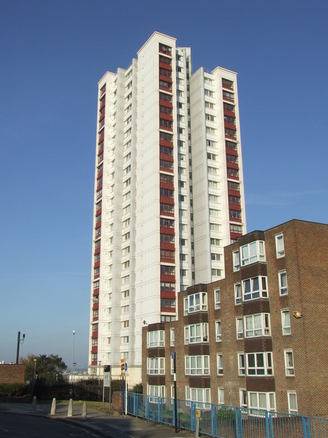 High rise flats, Plumstead