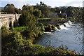 ST7766 : Weir at Batheaston by Philip Halling