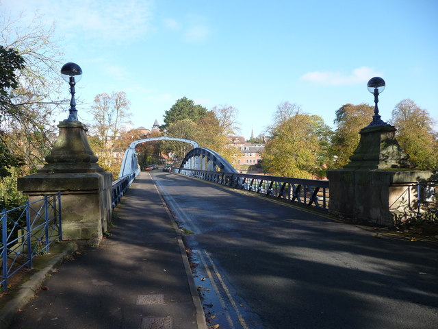 The Kingsland Toll Bridge, Shrewsbury