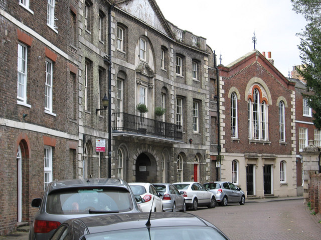 Wisbech - The Crescent (from east)