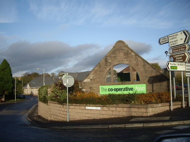 Distillery Road, Brechin