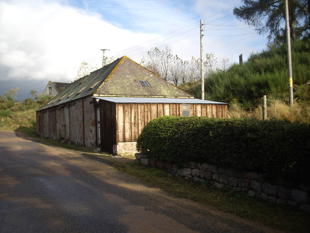 A steading at Bogendreip