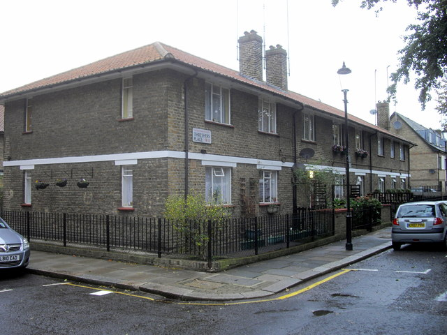 Houses in Threshers Place, London