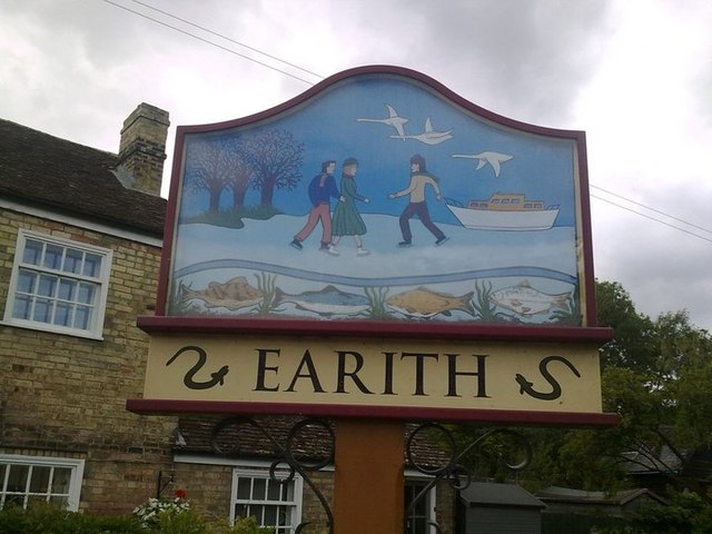 Earith Village Sign