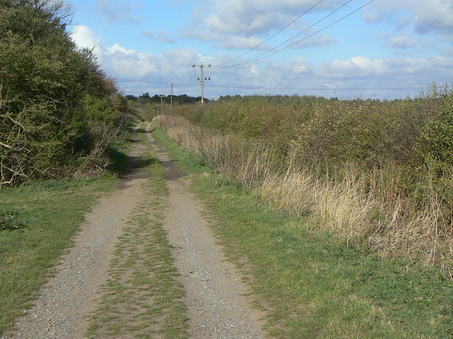 Bridleway on Cotgrave Wolds