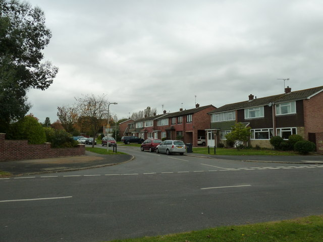 Looking from St John's Avenue into  Liddiards Way