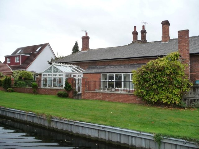 Old house with new conservatory