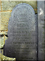 SK6435 : Gravestone at Cotgrave Church by Alan Murray-Rust