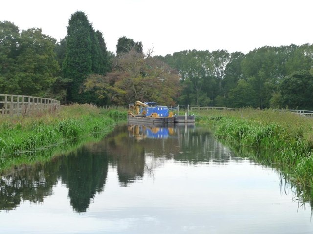 Workboats on the Chesterfield Canal