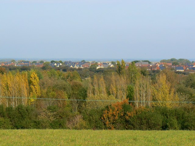 View to the Northern Expansion Area, Swindon
