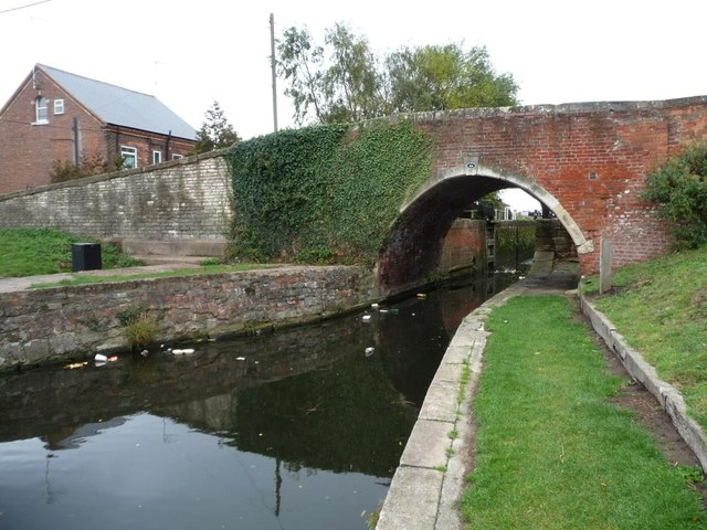 Bridge 44 with Lock 51 behind