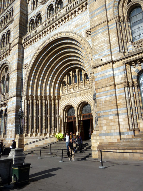 Natural History Museum London Entrance