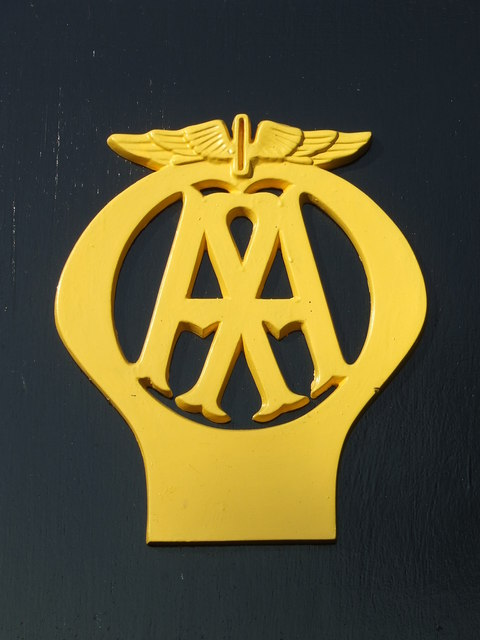 AA Logo © Keith Evans :: Geograph Britain and Ireland