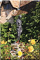 TL5262 : Statue in the Rose Garden, Anglesey Abbey by Rob Noble