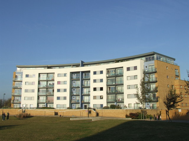 Apartments by the river, Thamesmead
