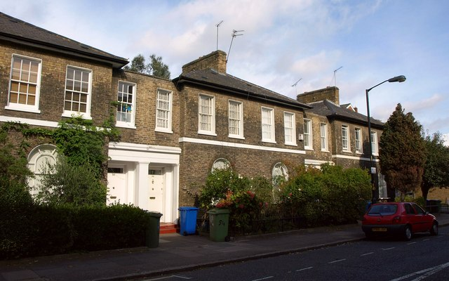 Victorian terrace, Lorrimore Road