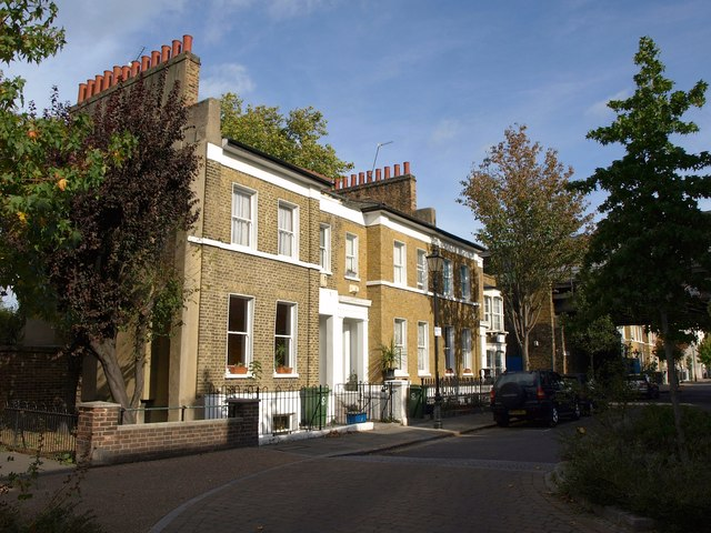 Houses on Sutherland Square, SE17