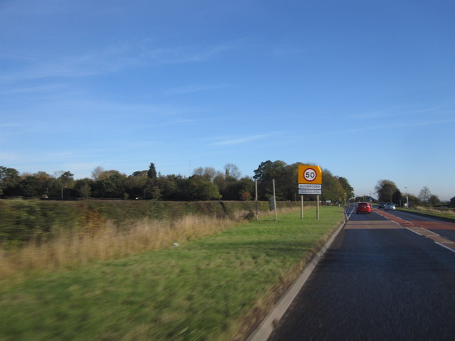 Wragby Road (A158) at Sudbrooke