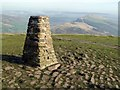 SK1283 : Trig point on Mam Tor by Graham Hogg