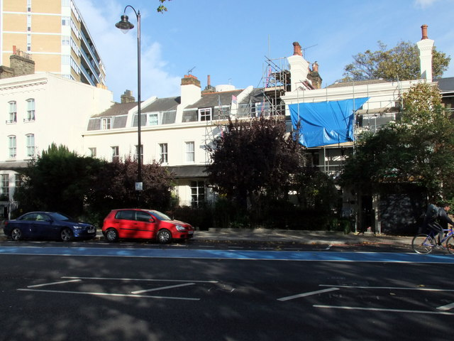 Houses in Grosvenor Road, Pimlico
