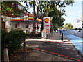TQ2977 : Shell Petrol Station, Grosvenor Road, Pimlico by PAUL FARMER