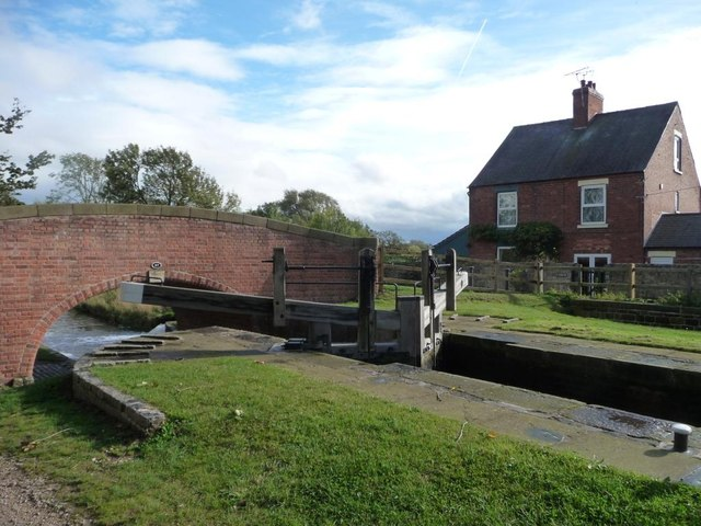 The Chesterfield Canal at Cinderhill