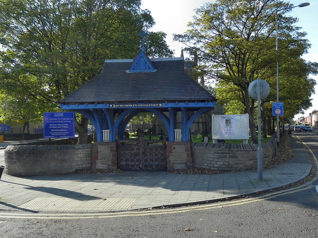 St Mark's Lychgate and Church