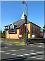 SJ9392 : Woodley Methodist Church by David Dixon