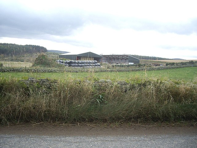 New barns at Pittenkerrie